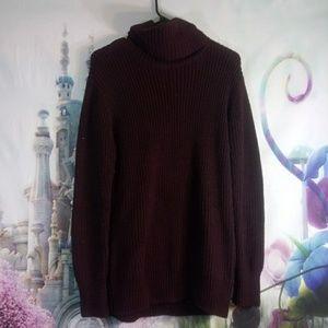 A&F Dark maroon sweater